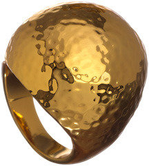 Trina Turk Hammered Dome Ring