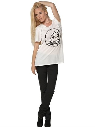 Cheap Monday Pack Of Two Cotton Easy T Skull T-Shirts