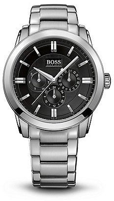 HUGO BOSS HB6002 Chronograph Stainless Steel Bracelet Strap Watch - Assorted Pre-Pack