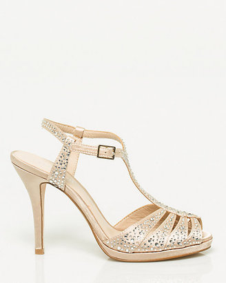 Le Château Jewel Encrusted Satin Sandal