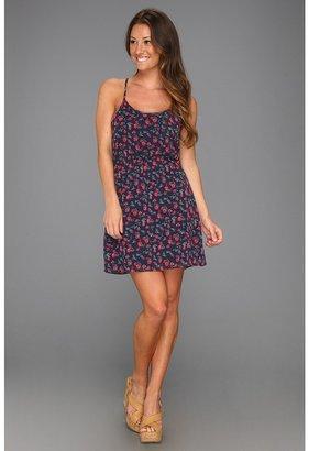 Roxy Ending Never Woven Tank Dress (Topez Ditsy Print) - Apparel