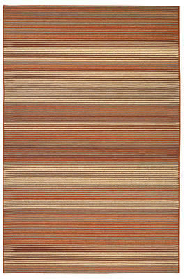 "Couristan Area Rug, Indoor/Outdoor Berkshire 9368/0530 Hoosic Terra Cotta-Corn 3'9"" x 5'5"""