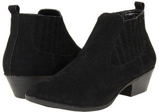UNIONBAY Elia Bootie (Black) - Footwear