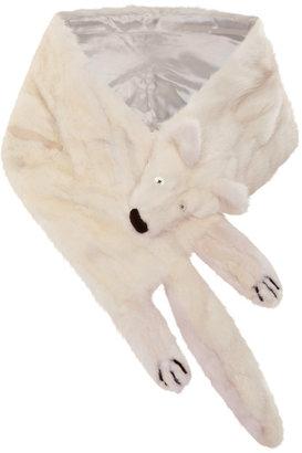 Marc Jacobs Small Herringbone Mink Boa