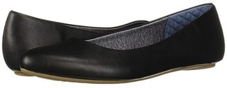 Dr. Scholl's Really (Black Smooth) Women's Flat Shoes