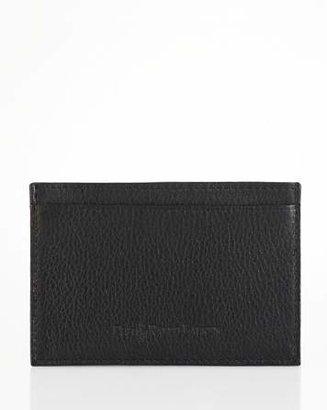 Polo Ralph Lauren Pebbled Leather Slim Card Case