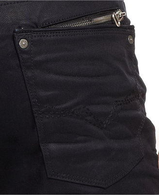 GUESS Slim-Fit Coated Jeans, Deseration Wash