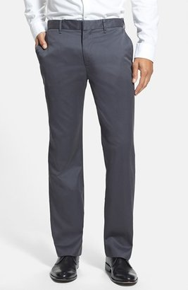 Men's Bonobos 'Weekday Warriors' Non-Iron Straight Leg Cotton Pants $98 thestylecure.com