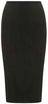 Dorothy Perkins Black slim fit midi skirt