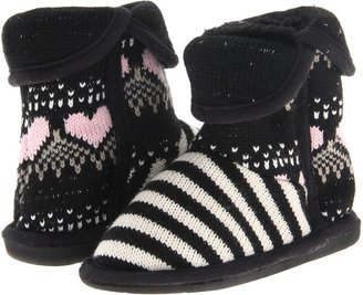 Steve Madden Comfy (Toddler) (Black Multi) - Footwear