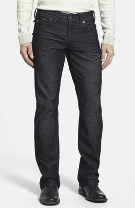 Men's True Religion Brand Jeans 'Ricky' Relaxed Straight Leg Corduroy Pants $159 thestylecure.com