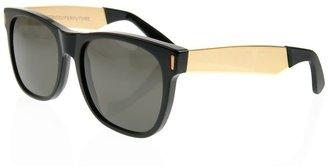 RetroSuperFuture Retro Super Future Metal arm plastic sunglasses