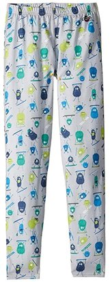 Hot Chillys Kids Midweight Print Bottom (Little Kids/Big Kids) (Doods) Boy's Clothing