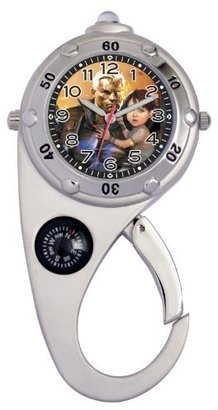 "Marvel Comics Kid's MA0304-D03 ""Cable"" Adventure Silver-Tone Clip Watch"