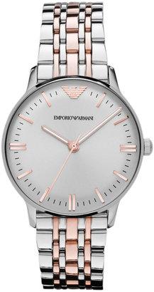 Emporio Armani Watch, Women's Two Tone Stainless Steel Bracelet 32mm AR1603