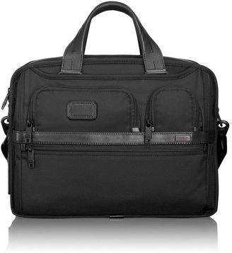 Tumi Alpha 2 Expandable Organizer Laptop Brief Case