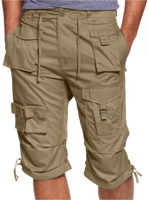Sean John Men's Classic Flight Cargo Shorts, Only at Macy's $64.50 thestylecure.com