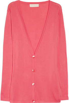 Cacharel Fine-knit cotton cardigan