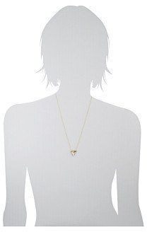 House Of Harlow Whitetip Tooth Necklace