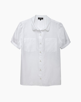 A.P.C. claudia short sleeve shirt