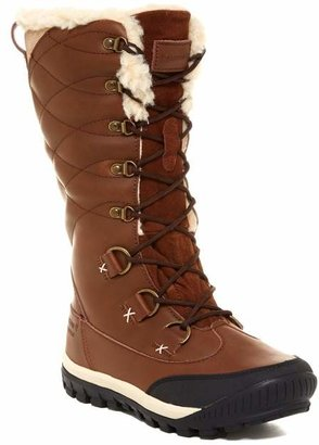 BearPaw Isabella Genuine Sheepskin Lined Lace-Up Boot