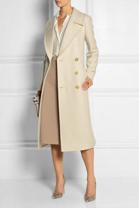 Michael Kors Double-breasted wool-felt coat