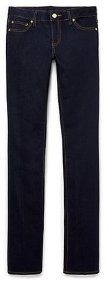 Tory Burch Straight Leg Saturated Jean