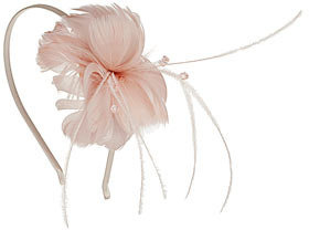 Dorothy Perkins Feather flower alice band