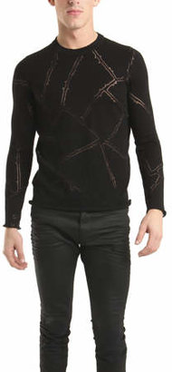 Lucien Pellat-Finet Thorn Of Roses Sweater