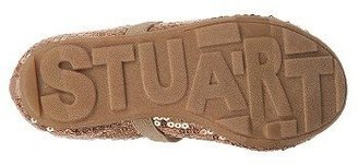 Stuart Weitzman Kids' Fannie Sequin Strap Flat Toddler/Preschool