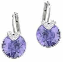 Swarovski Bella Violet Crystal Drop Earrings