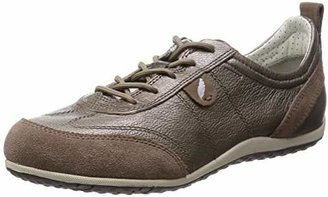 Geox D Vega A, Women's Trainers, Brown (TAUPEC6029)