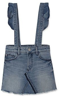 DL1961 Girls' Jenny Denim Overall Skirt - Big Kid