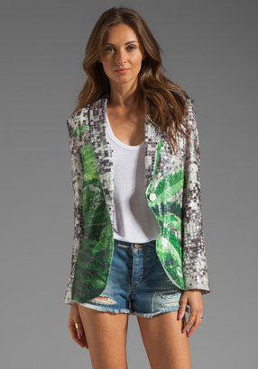 Clover Canyon How High Sequins Blazer