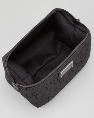Marc by Marc Jacobs Dreamy Logo Cosmetic Case, Black