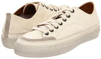 Burberry Leather Heritage Stamp Trainers (White) - Footwear