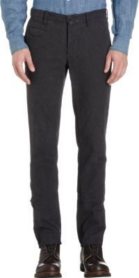 Incotex Textured Slim-Fit Pants