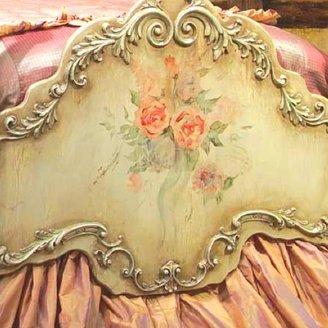 Delila English Rose Garden Four Poster Bed