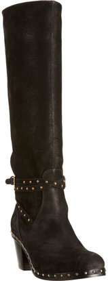 Miu Miu Studded Strap Knee Boot