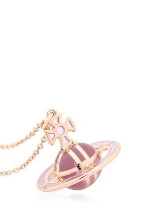 Vivienne Westwood Plique-A-Jour Enameled Brass Necklace