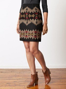 Pendleton Vernonia High Waisted Skirt