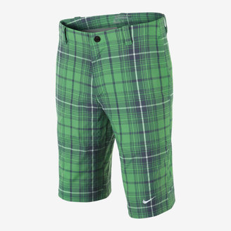 Nike Plaid Tech Boys' Golf Shorts