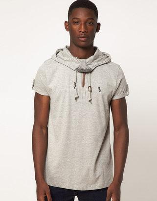 Ringspun T-Shirt Moss Hooded