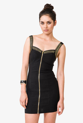 Forever 21 Studded Bodycon Dress