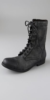 Jeffrey Campbell All Lace Up Combat Boots
