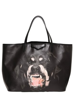 Givenchy Rottweiler Coated Canvas Tote Bag
