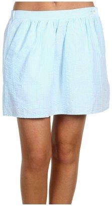 Lilly Pulitzer Mimosa Skirt (Shorely Blue Lucky Seersucker) - Apparel