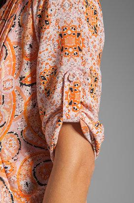 BCBGMAXAZRIA Short Sleeve Tunic