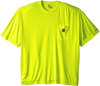Carhartt Men's Big & Tall High Visibility Force Color Enhanced Short Sleeve Tee