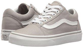 Vans Old Skooltm (Drizzle/True White) Skate Shoes